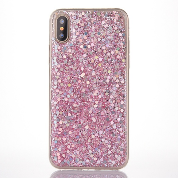 Accessories - NEW iPhone 7+/8+Glitter Sequin Case